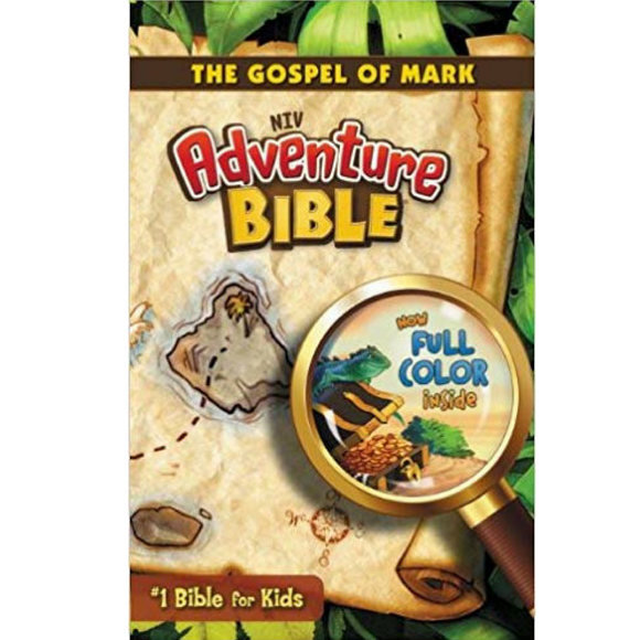 NIV-Adventure Bible-The Gospel Of Mark