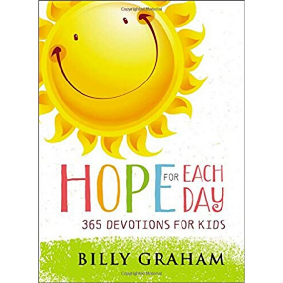 Hope For Each Day-365 Devotions For Kids