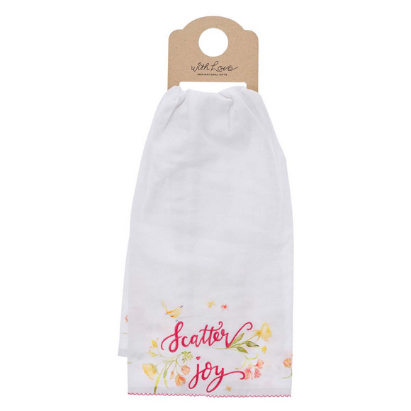 Tea Towel - Scatter Joy Cotton (TWL018)