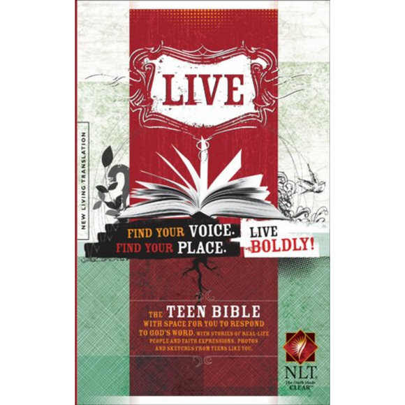 NLT-Live: Holy Bible Hardcover
