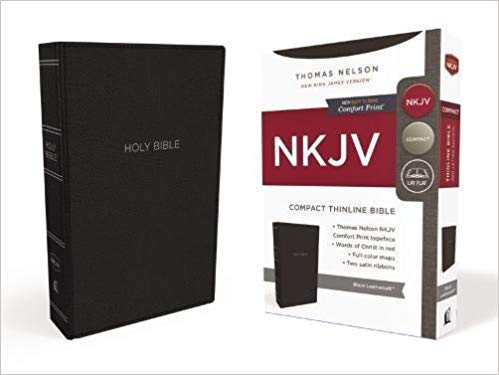 NKJV-Compact Thinline-Comfort Print
