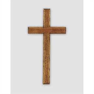 Wood Wall Cross-Oak-11H-WC-131