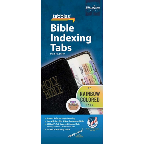 Bible Tab-Tabbies