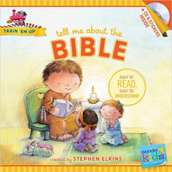 Train Em Up-Tell Me About Bible w/CD+Stickers