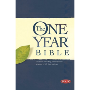 NKJV - The One Year Bible (Softcover)