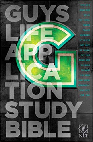 NLT-Guys Life Application Study-HC