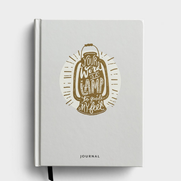 Your Word Is a Lamp to Guide My Feet - Journal (#91635)