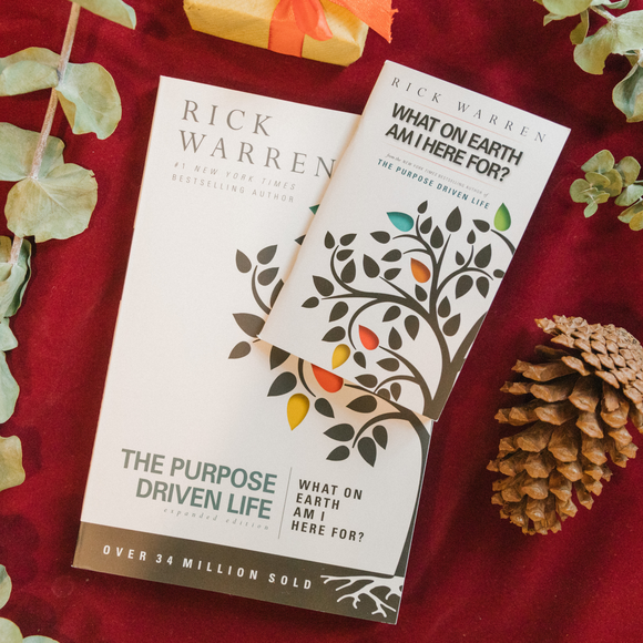 Purpose Driven Life with booklet