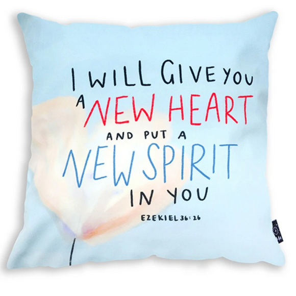 New Heart New Spirit - Cushion Cover