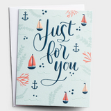 Birthday - Just For You Card