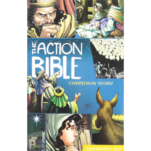 Pamphlet-The Action Bible Christmas Story