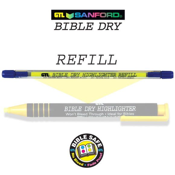 Bible Dry Highlighter - Refill
