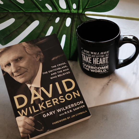 David Wilkerson with Mug