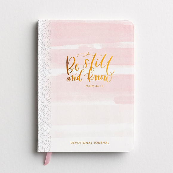 Be Still and Know Devotional Journal -#94332