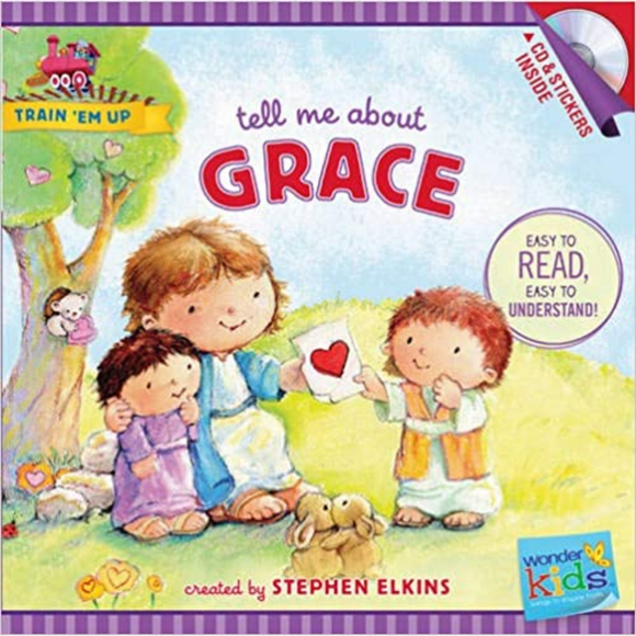 Train Em Up-Tell Me About Grace w/CD+Stickers