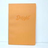 Soft Cover Notebook - Delight / Dots (Yellow)