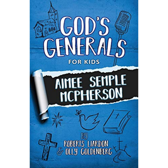 God's Generals for Kids 9 - Aimee McPherson (New)