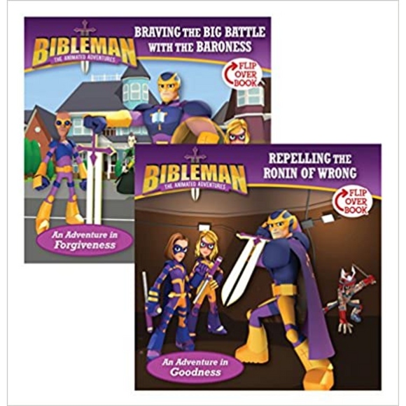 Bibleman-Flip-Braving The Big/Repelling The Ronin
