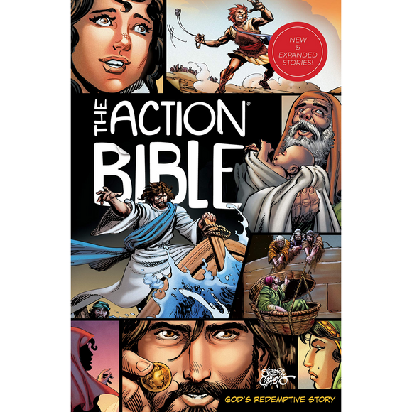 The Action Bible: God's Redemptive Story (Expanded Edition)