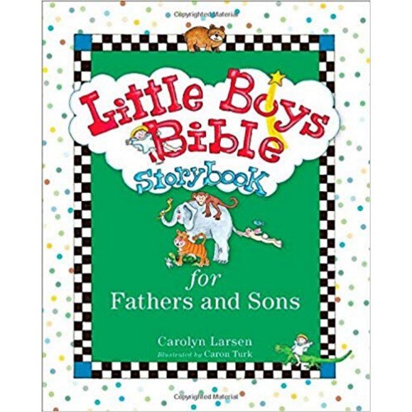 Little Boys Bible Storybook-Fathers & Sons