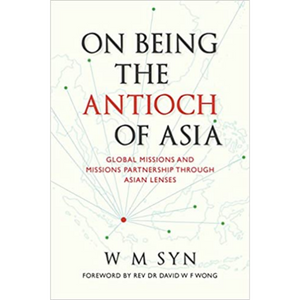 On Being The Antioch Of Asia