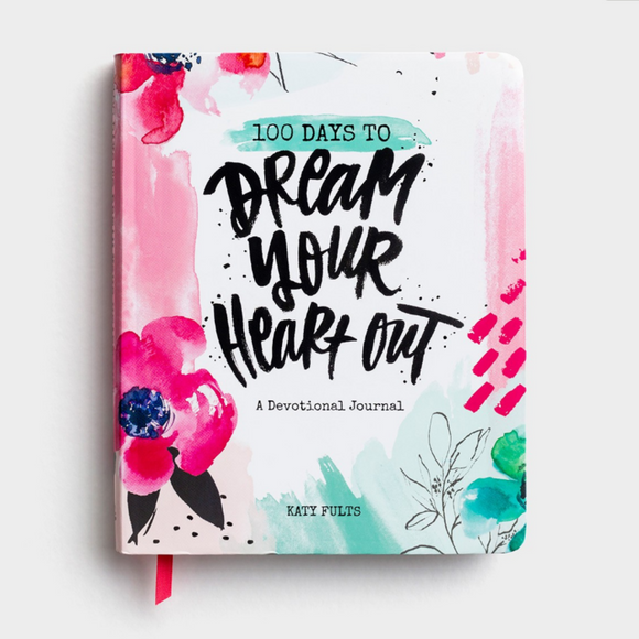 100 Days to Dream Your Heart Out - Devotional Journal (#J1590)