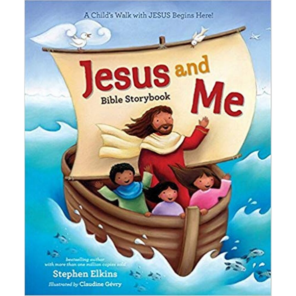Jesus And Me-Bible Storybook