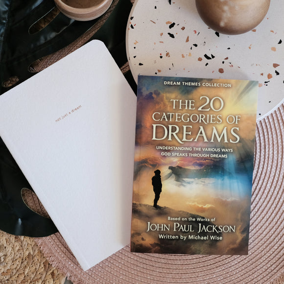 20 Categories Of Dreams with Journal