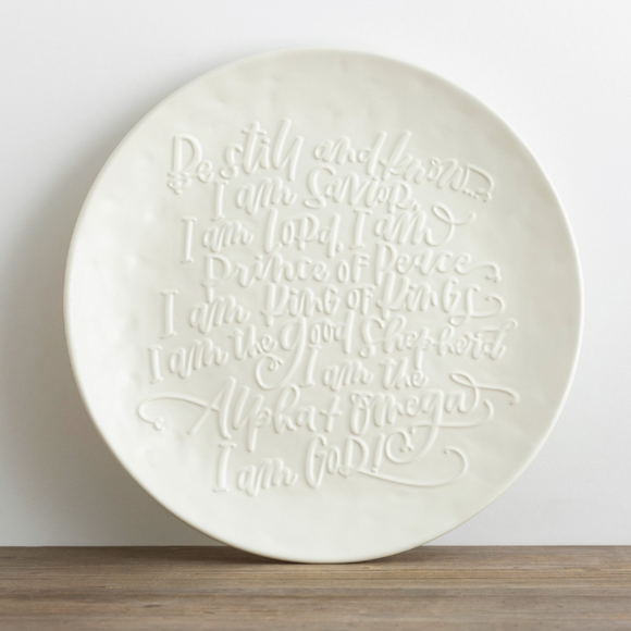 Christmas Platter-Be Still-#91527