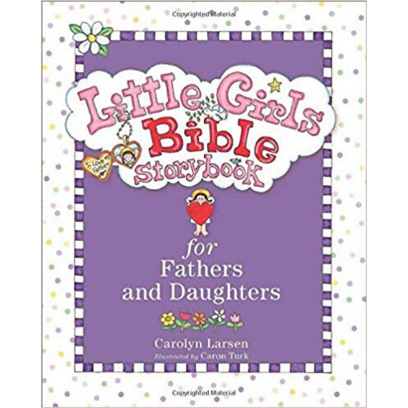 Little Girls Bible Storybook-Fathers & Daughters