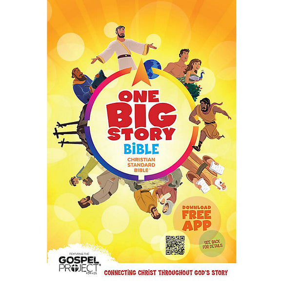 CSB-Big Picture Interactive Bible-Hardcover