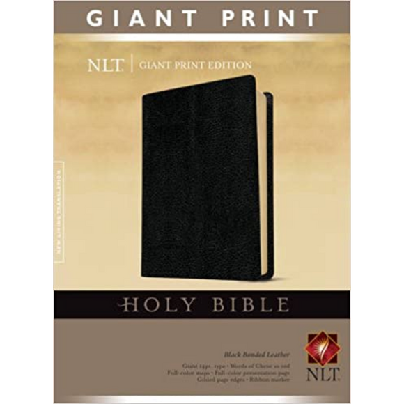 NLT-Giant Print-Black BL