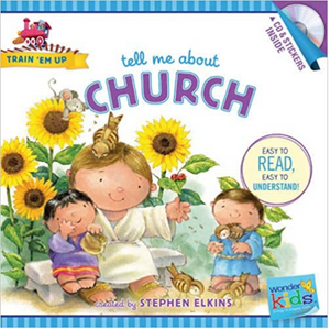 Train Em Up-Tell Me About Church w/CD+Stickers
