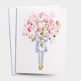 Thank You - Bouquet Card #13063