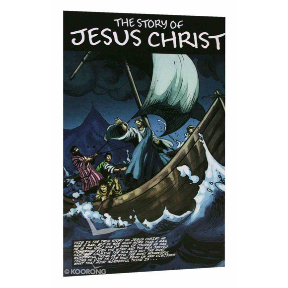 The Story of Jesus Christ Graphic Novel