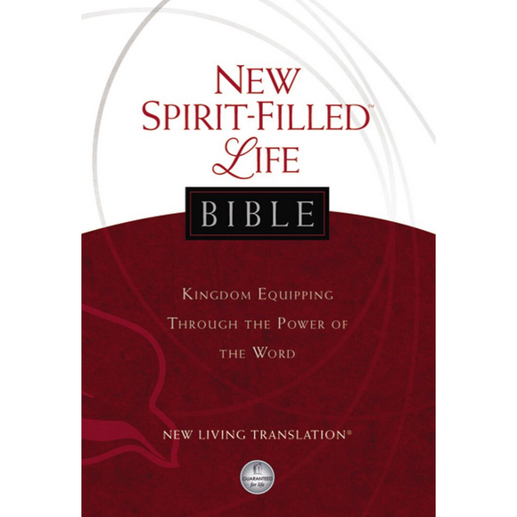 NLT-New Spirit Filled Life-Hardcover