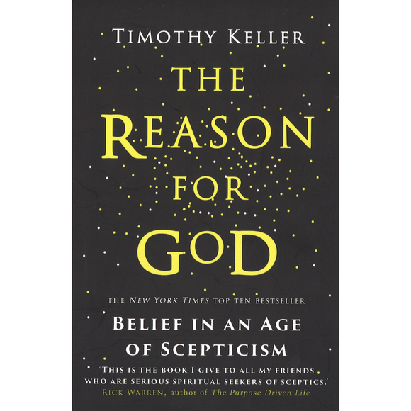The Reason For God -Belief In An Age Of Scepticism