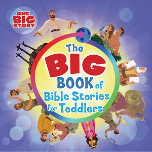 Big Book Of Bible Stories For Toddlers - Padded