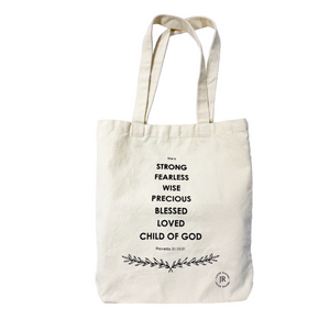 TOTE BAG - NOBLE CHARACTER