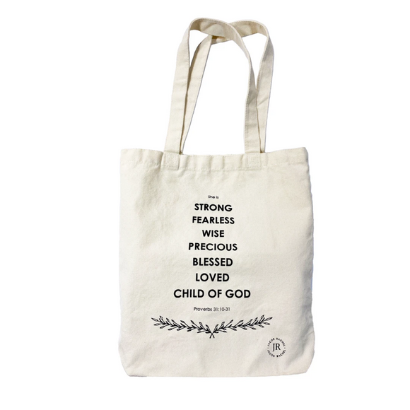 Noble Character Tote Bag