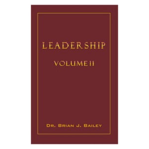 Leadership 2-Dr Brian Bailey