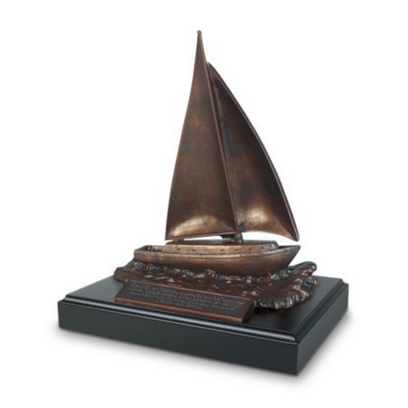 Sculpture-Sailboat-For I Know The Plans-#20132