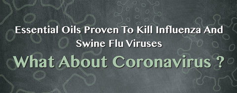Article about essential oil against Coronavirus