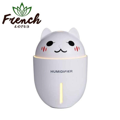 French Lotus™ | <b>Air Humidifier</b><br> Cute Cat Air Cleaner (320mL) - French Lotus