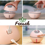 Battery-Powered Essential Oil Diffuser how it works