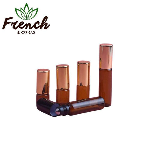 French Lotus™ | <b>Essential Oil Accessories</b><br> 5pcs Multivolume Bottles - French Lotus