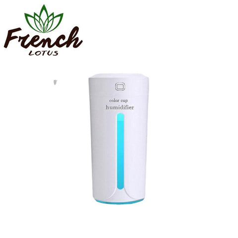 Mini Air Humidifier For Car white