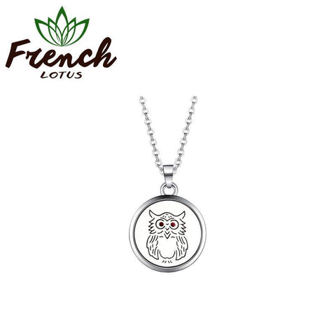Aroma Diffuser Necklace | French Lotus