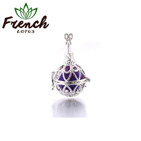 Aroma Necklace Pendant | French Lotus
