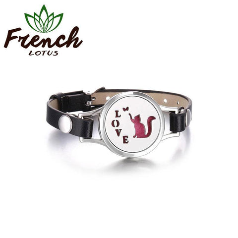 Aromatherapy Diffuser Bracelet | French Lotus